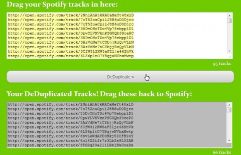 Spotify DeDuplicator